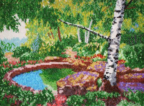Картины бисером своими руками схемы бесплатно