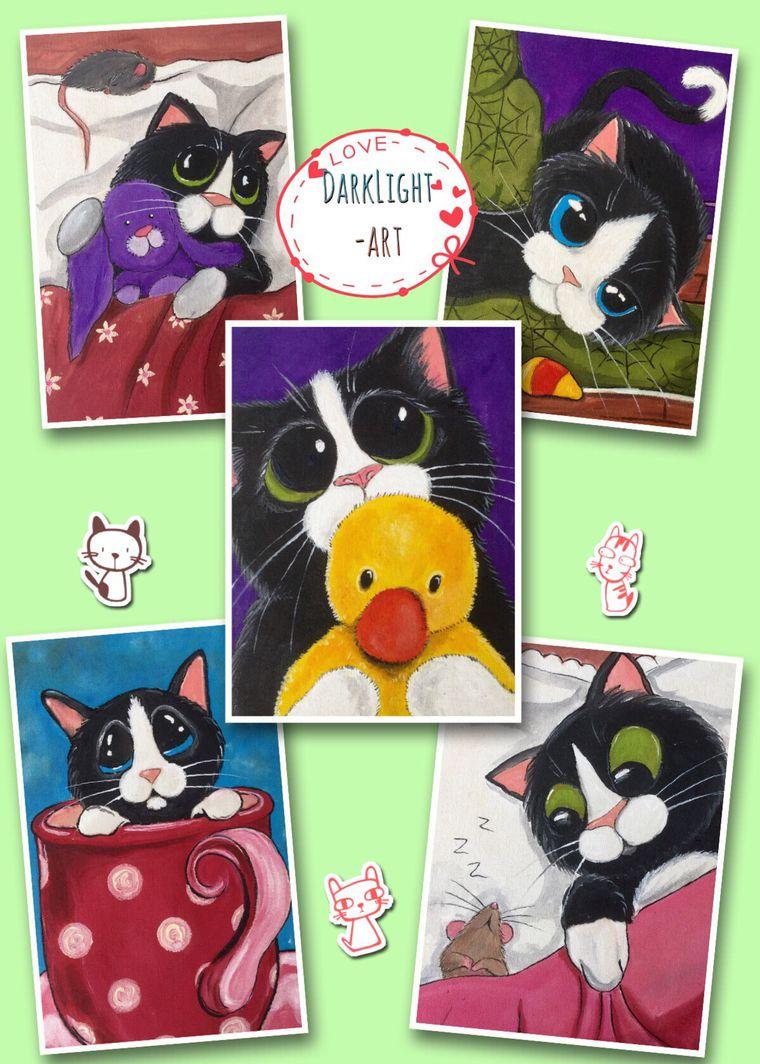 аукцион, аукцион сегодня, аукционы, купон, аппликация, ткани, ткань для рукоделия, ручная роспись, 100% хлопок, котики, кошки, коты, коты и кошки, котик, черный кот, для детей, декорирование, материалы для творчества, распродажа готовых работ