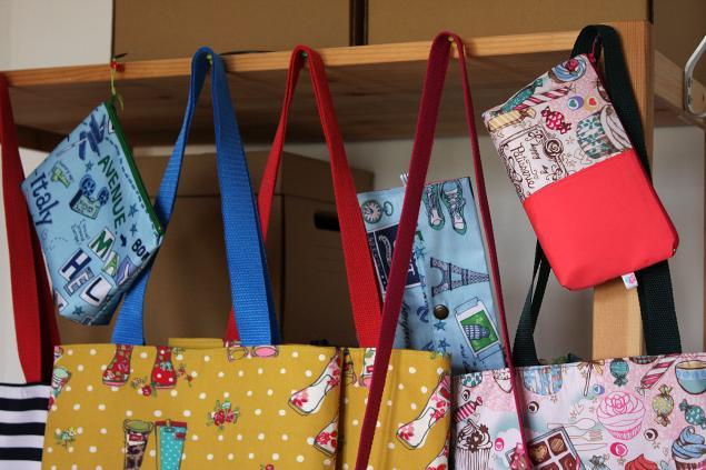 новые сумки, трэвел органайзер, пляжная сумка, рукодельная сумка, в полоску, сумка из хлопка
