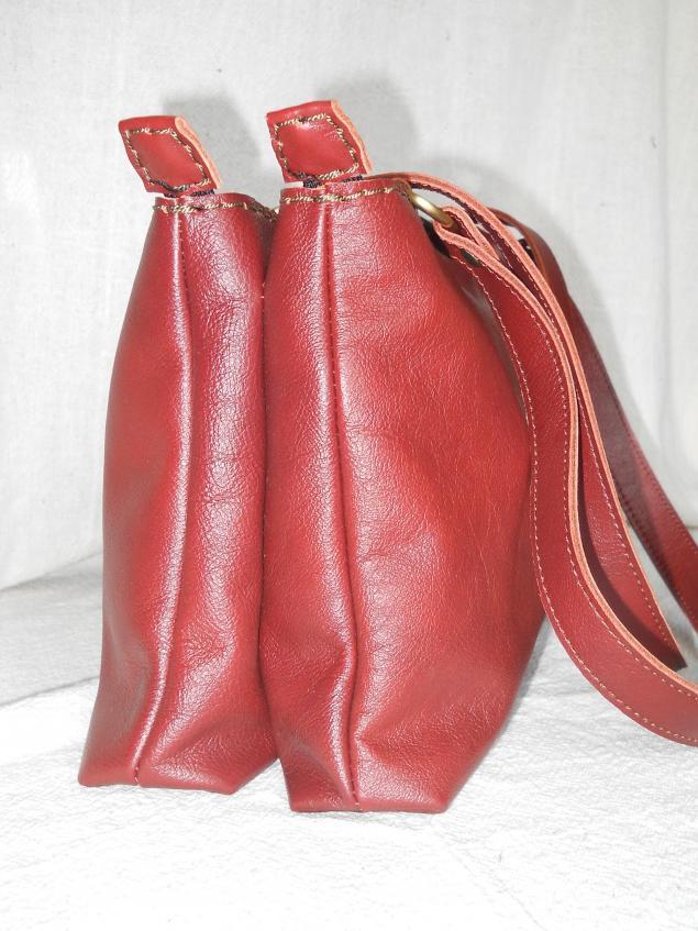 сумка ручной работы, изделия из кожи, пошив сумки
