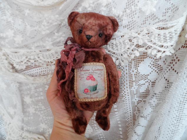 медвежонок, тедди, шоколад