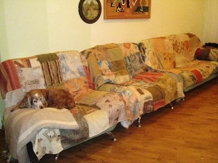 §то можно сделать из образцов мебельной ткани