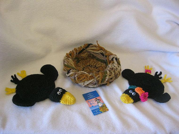 ворона, подарок, пасхальный сувенир, подставка, для интерьера