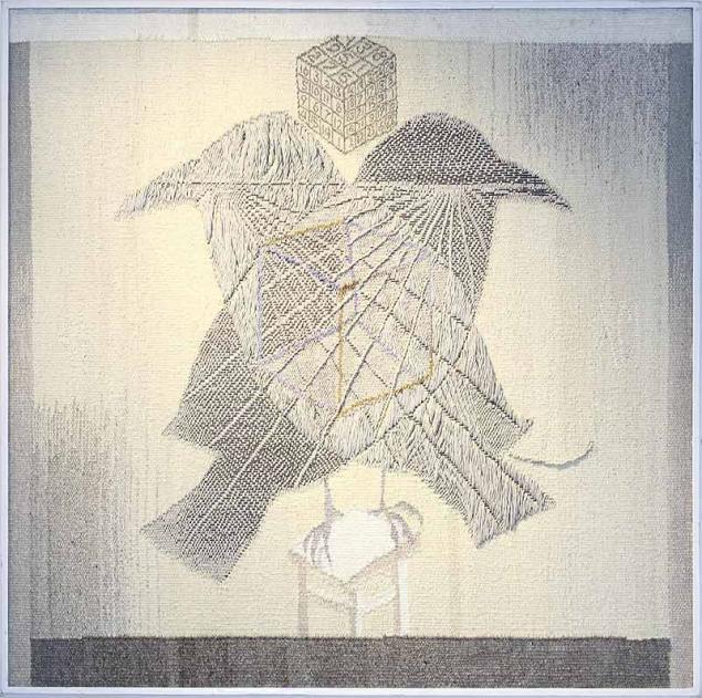 Тканый настенный ковёр шпалера в современных интерпретациях, фото № 14
