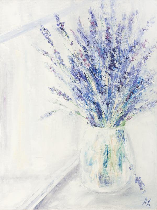 картина, цветы