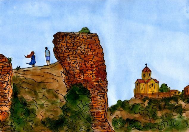 Путешествуем с Михаилом Щербаковым (Vokabre): быстрые зарисовки акварелью, фото № 11
