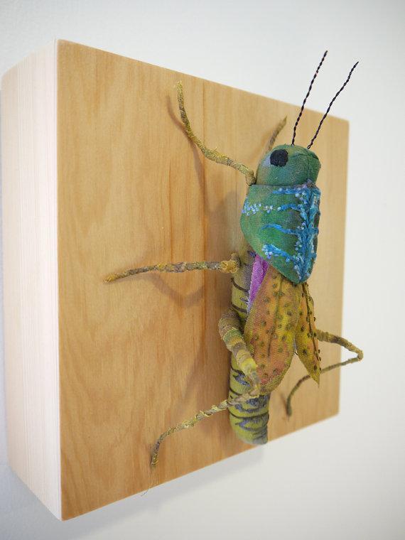 Дивные текстильные насекомые от мастера Yumi Okita, фото № 2