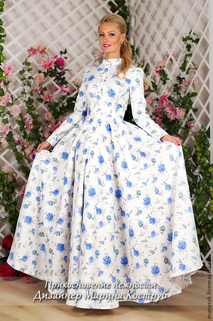 платье, реклама