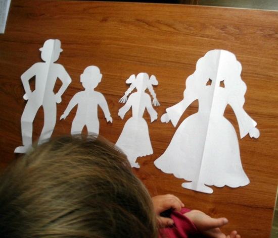 из бумаги, творим с детьми
