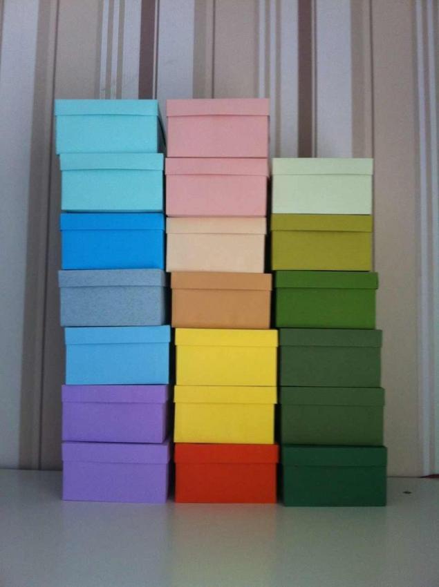 картон, коробочки на заказ
