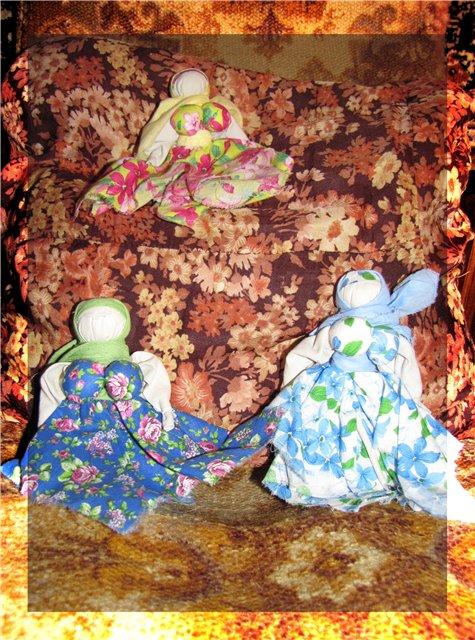 народная кукла, желанница, тряпичная кукла