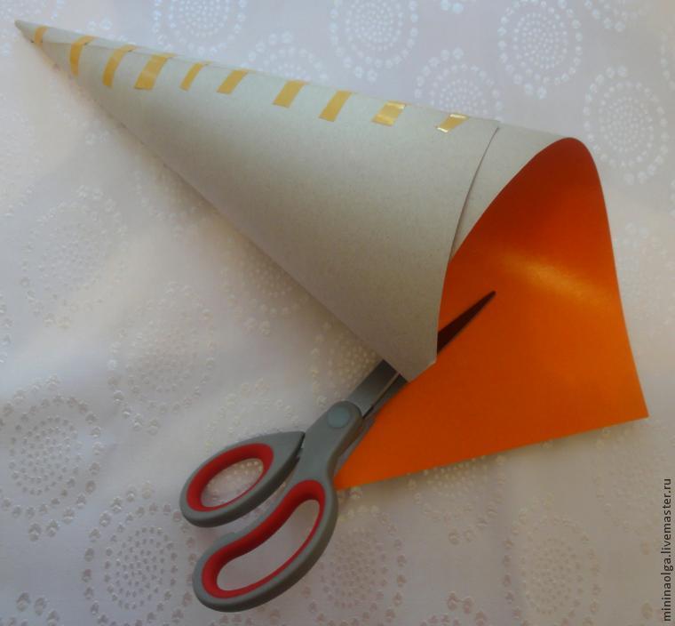 Новогодняя елочка из бумажных салфеток своими руками, фото № 4