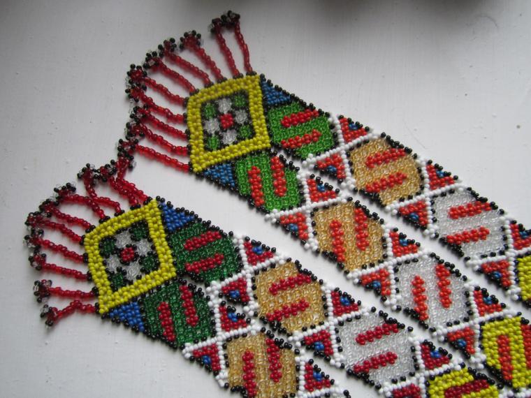 скидки 10%, 8 марта, распродажа, акция, бисер, русский стиль, украшения из бисера, гайтан, гердан, чопка, цепочка, народный костюм, традиционный костюм