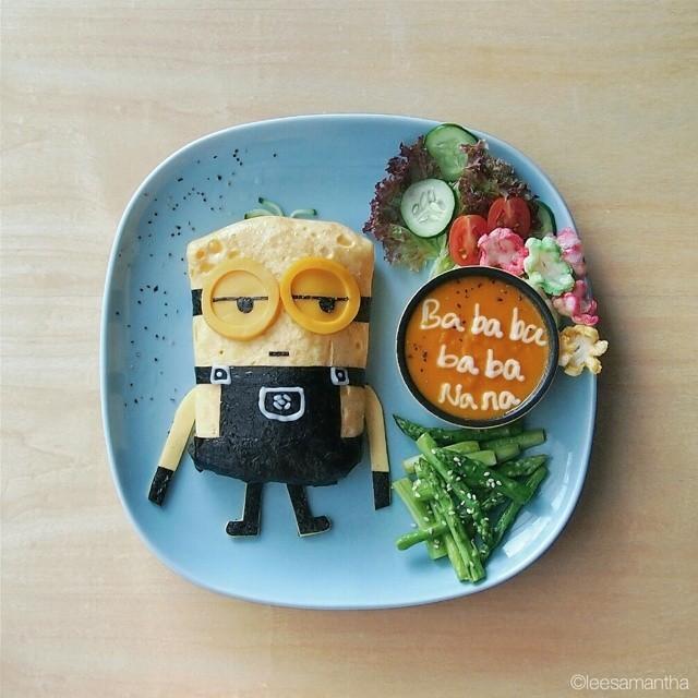 картины из еды