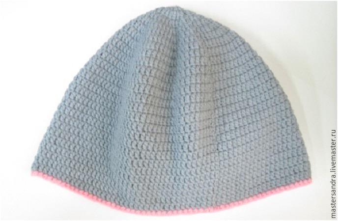мастер класс, шапочка с ушками, подарок для девочки