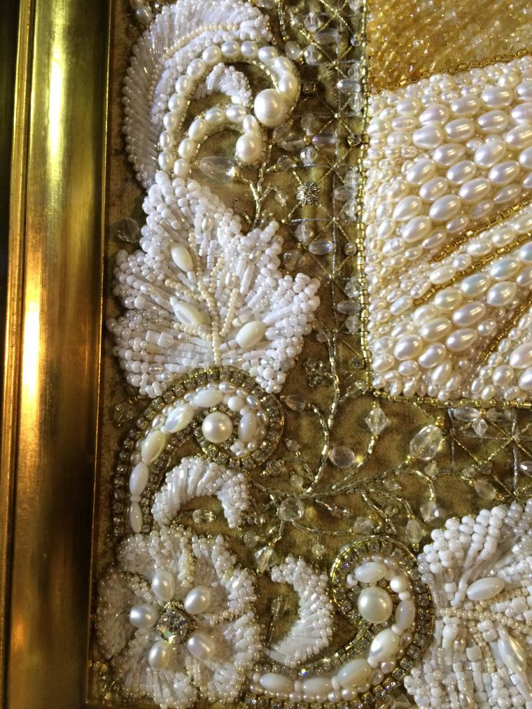 Роскошная вышивка бисером и жемчугом 156