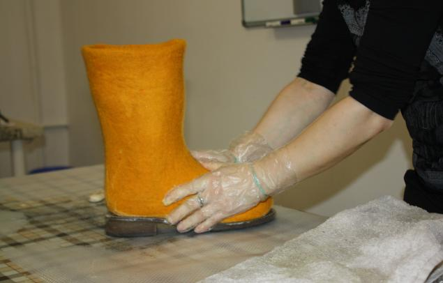 Мастер класс валяние обуви марина климчук