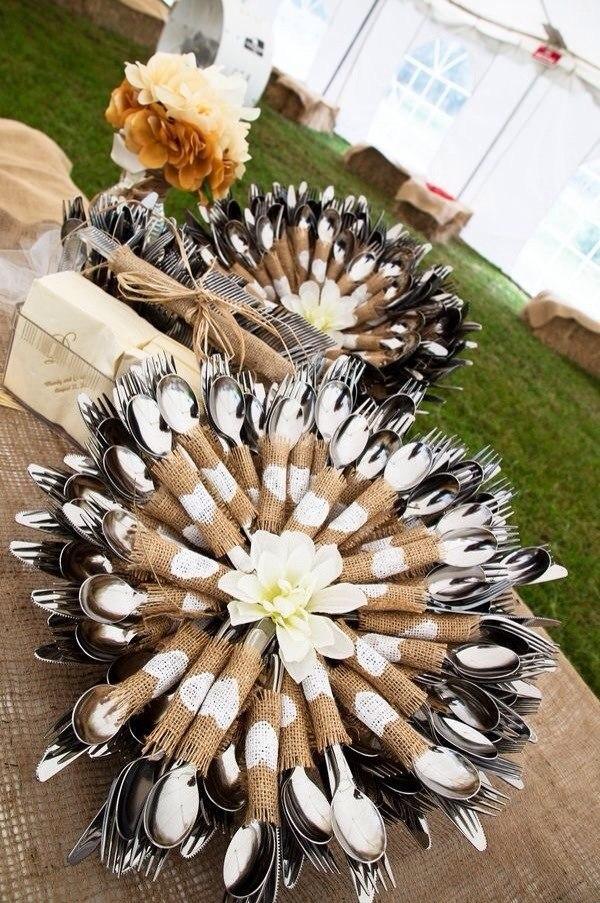 Льняная свадьба. Идеи для вдохновения, фото № 59