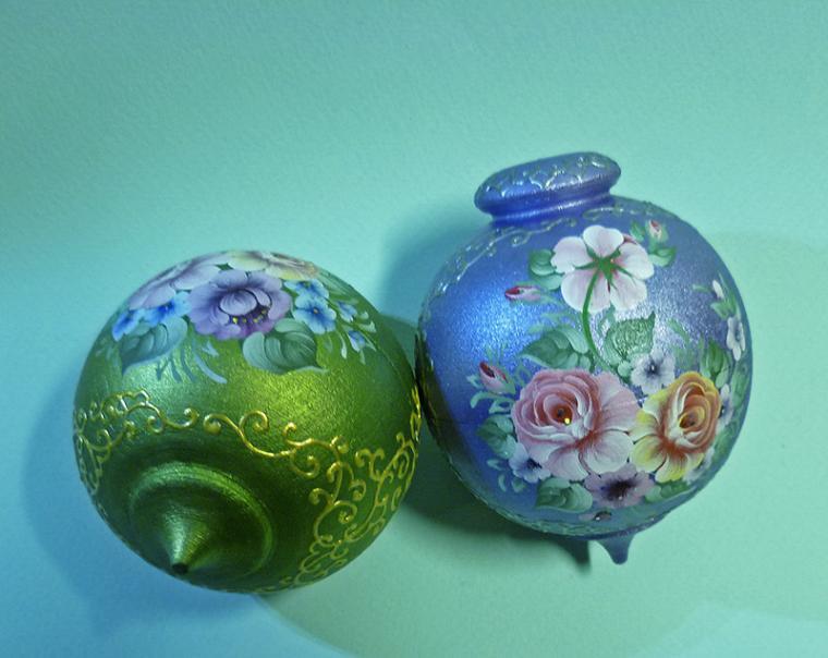 Мои шарики с розами, фото № 6
