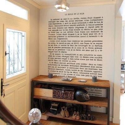 Мысли на виду! (или 60 идей декора стен с помощью слов, букв и цифр), фото № 11