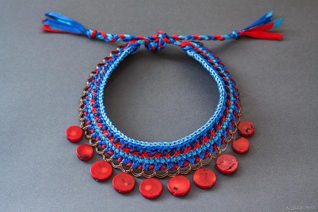 Как сделать украшения из цепочек