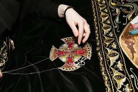 вышивка, египет