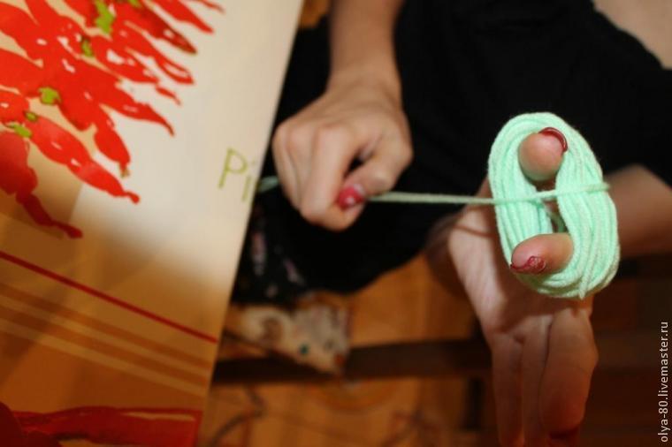 Процесс создания веселого коврика, фото № 7