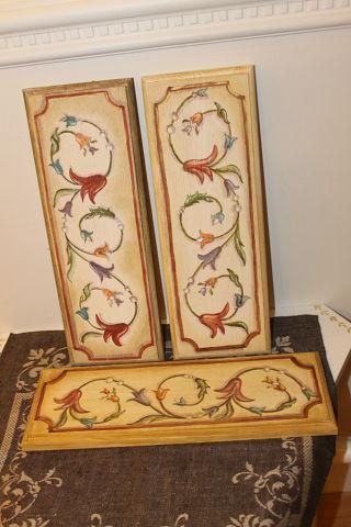 итальянский стиль, роспись акрилом, обновление мебели