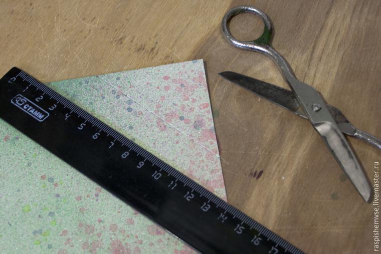 Делаем свадебные кулечки для лепестков, фото № 32