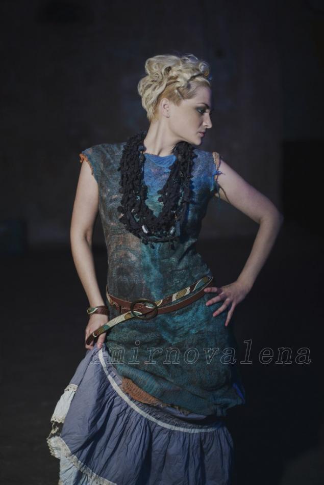 мастер-класс, платья, оригинальная технология