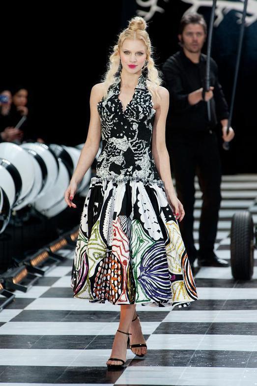 Franck Sorbier Haute Couture весна-лето 2014, фото № 6