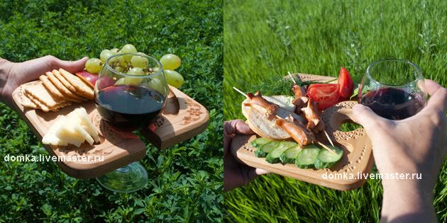 столик, загородный, фуршет