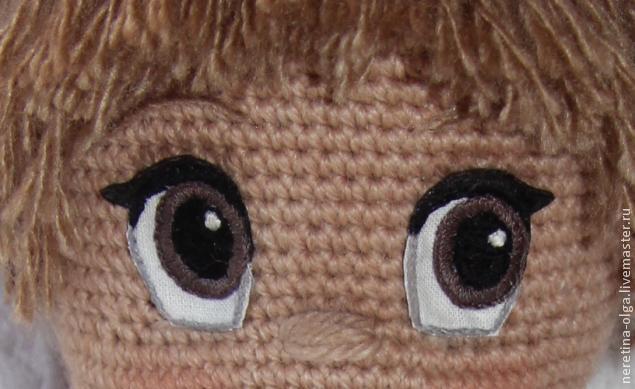 Вязаные глазки для вязаных кукол