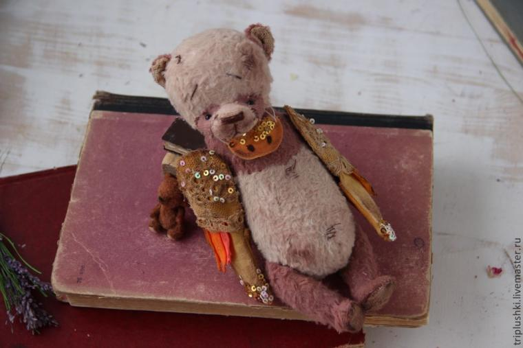 мк, авторский мишка, таисия клонингер