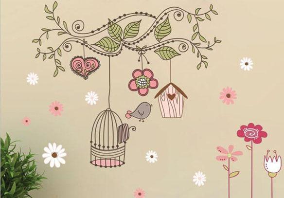 роспись стен и потолков, роспись детской комнаты