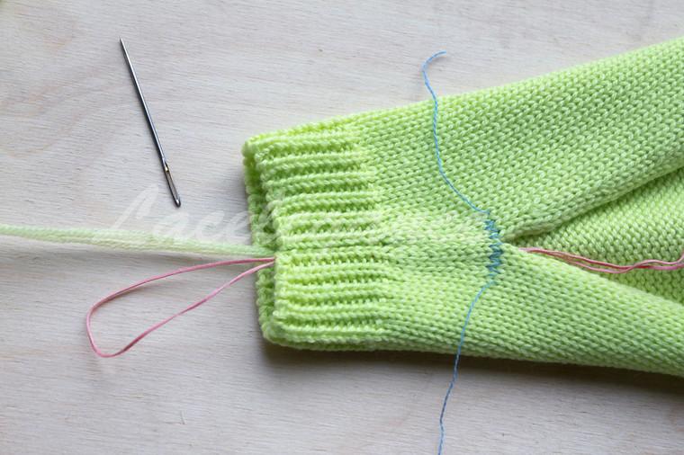 как сшивать вязаные изделия мастер класс для начинающих и