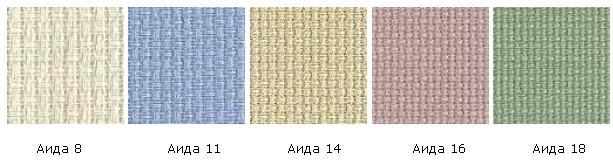 Ткани для счетной вышивки