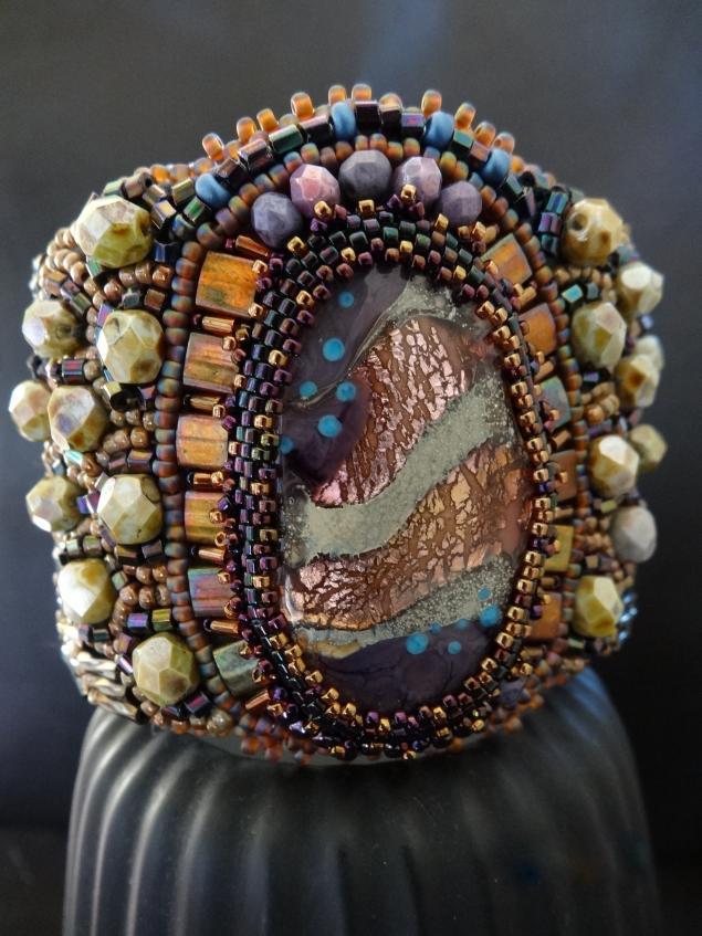 лампворк бусины, браслет из бисера, купить украшения, выгодная цена