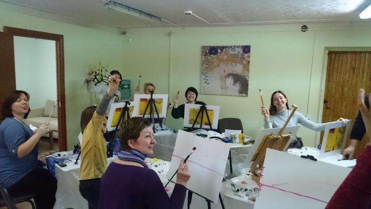уроки рисования, мастер-класс по живописи
