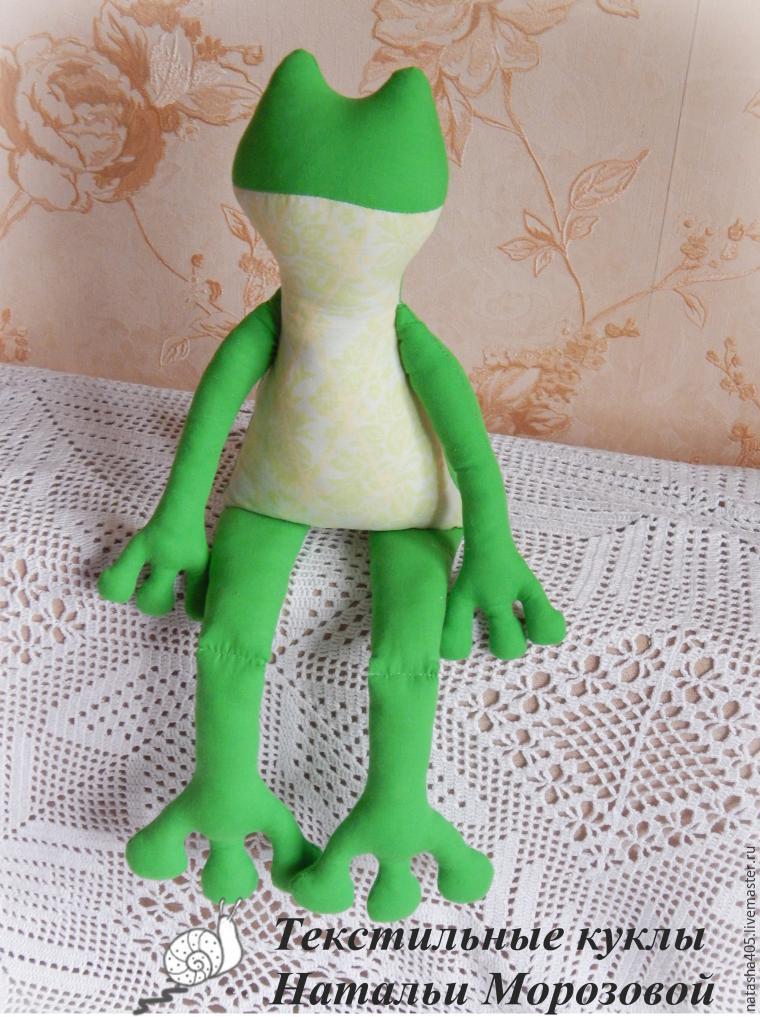 Шьем забавную лягушку, фото № 9