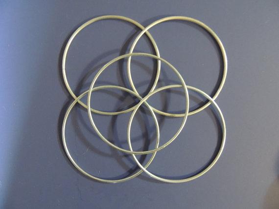 кольца, метал