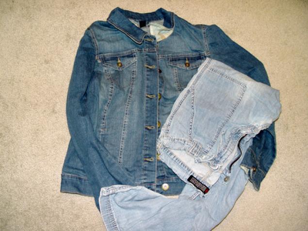 旧牛仔裤还能干什么?31 牛仔长夹克改为短夹克(大师班) - maomao - 我随心动