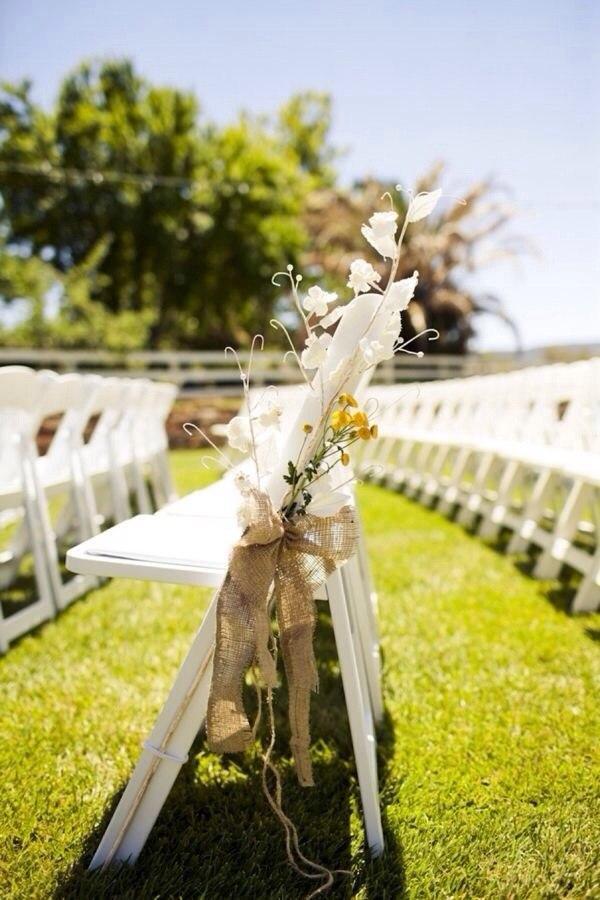 Льняная свадьба. Идеи для вдохновения, фото № 16