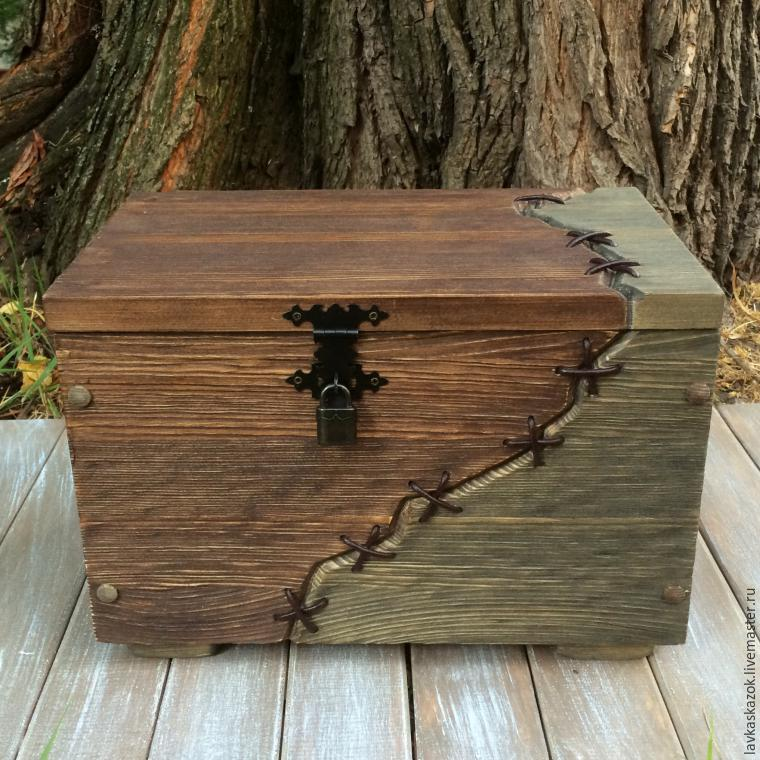 Изделия из дерева сундуки фото