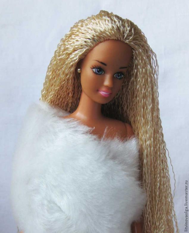 Причёски для кукол своими руками 6