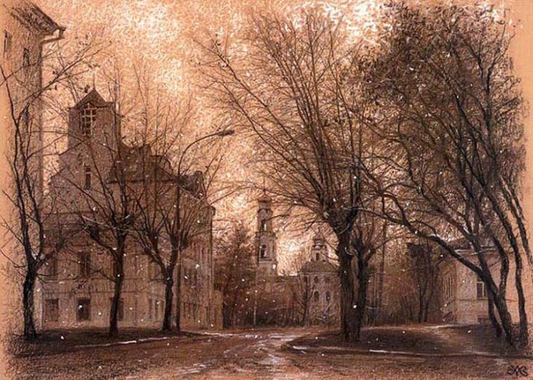 Картинки природа зимняя роща город ефремов фото