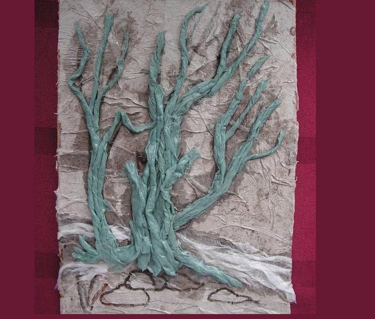 Дерево из туалетной бумаги в картинках