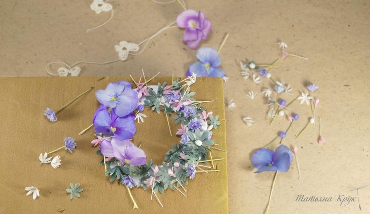 творческий процесс, брошь цветок, цветы из фоамирана, изделия ручной работы