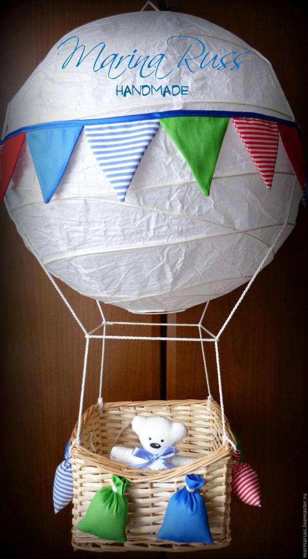 Как сделать корзину для воздушного шара своими
