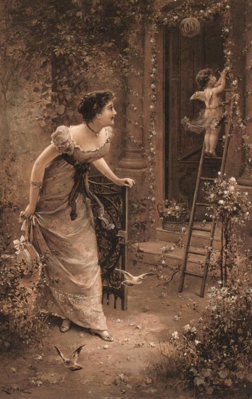 Шедевры живописи. Картины австрийского художника Ханса Зацка, фото № 15